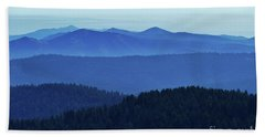 Oregon Blues  Beach Towel