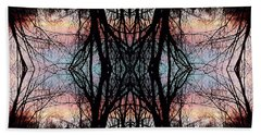 Evening Kaleidoscope Beach Towel