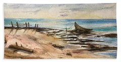 Evening Solitute Beach Sheet