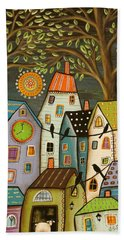 Evening Song Beach Towel