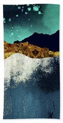 Evening Stars Beach Towel by Katherine Smit