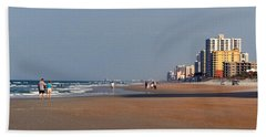 Evening Stroll Beach Towel