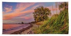 Evening Sunset Beach Towel