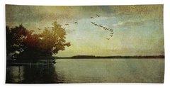 Evening, The Lake Beach Sheet
