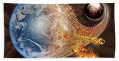 Event Horizon Beach Sheet