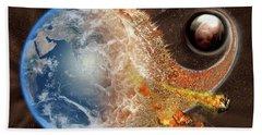Event Horizon Beach Towel