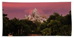 Everest Sunset Beach Towel