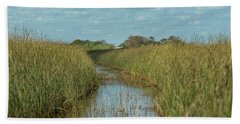 Everglades Trail Beach Sheet by CR Courson