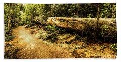 Evergreen Jungle Trails Beach Towel