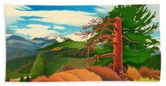Evergreen Overlook Beach Towel