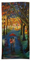 Everlasting Love Beach Towel