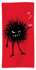 Evil Bug With A Love Potion Beach Towel