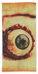 Evil Eye Beach Towel by Jorgo Photography - Wall Art Gallery