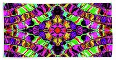 Evolving Energy #023 Beach Towel by Barbara Tristan