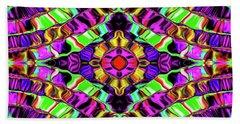 Evolving Energy #023 Beach Sheet by Barbara Tristan