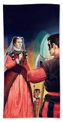 Execution Of Mary Queen Of Scots Beach Towel by English School