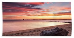 Beach Towel featuring the photograph Exhale by Edward Kreis