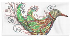 Exotic Bird I Beach Sheet