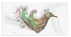 Exotic Bird I Beach Sheet