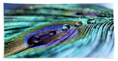 Exotic Drops Of Life Beach Sheet