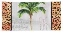 Exotic Palms 1 Beach Towel