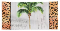 Exotic Palms 1 Beach Towel