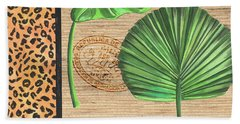 Exotic Palms 2 Beach Towel