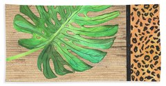 Exotic Palms 3 Beach Towel