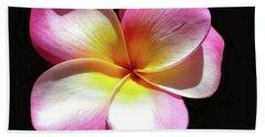 Exotic Plumeria Beach Sheet