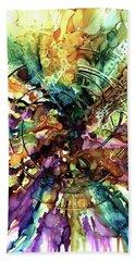 Expanding Universe Beach Sheet by Alika Kumar