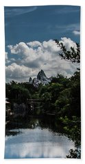 Expedition Everest Beach Sheet by Sara Frank