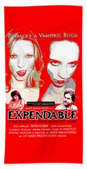 Expendable Poster Beach Towel