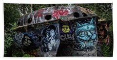 Experimental Graffiti Beach Sheet