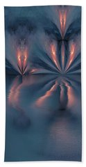 Exploding Butterfly Beach Towel