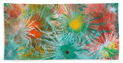 Exploflora Series Number 2 Beach Towel