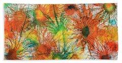 Exploflora Series Number 5 Beach Towel