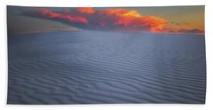 Explosion Of Colors Beach Towel