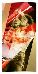 Explosive Michael Jackson Beach Towel