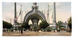 Exposition Universelle Grand Entrance - Paris - 1900 Beach Towel