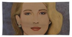 Exquisite - Jennifer Lawrence Beach Towel