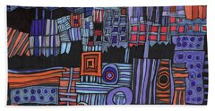 Exterior Facade Beach Towel by Sandra Church