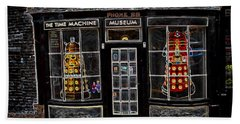 Exterminate Exterminate Beach Towel by Pennie  McCracken