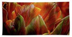 Extraordinary Passion Beach Sheet by Diana Mary Sharpton