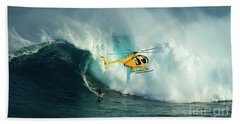Extreme Surfing Hawaii 6 Beach Towel