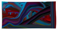 Extruded Colors 44 Beach Towel