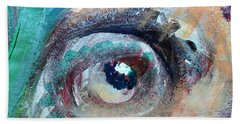 Eye Go Slow Beach Towel