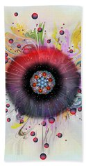 Eye Know Light Beach Sheet by Iowan Stone-Flowers