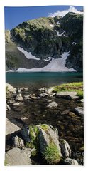 Eye Lake-rila Lakes Beach Towel