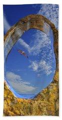 Eye Of Odin Beach Sheet by Paul Wear