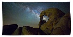 Eye Of The Milky Way Beach Towel